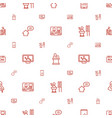 conference icons pattern seamless white background vector image vector image