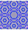 Creative Ornamental Blue Pattern vector image vector image