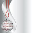 Happy New Year as crossword vector image vector image
