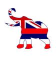 hawaii republican elephant flag vector image vector image