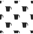Measuring cup icon in black style isolated on vector image vector image