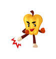 pepper kick boxer character vector image
