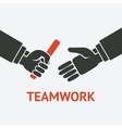 relay teamwork concept symbol vector image vector image