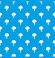 broccoli pattern seamless blue vector image