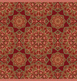 floral pattern with pomegranates vector image vector image