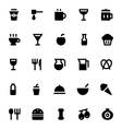 Food and Drinks Icons 1 vector image vector image
