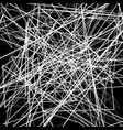 irregular random chaotic lines abstract vector image vector image