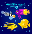marine aquarium fishes vector image vector image
