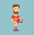 rugby player vector image vector image