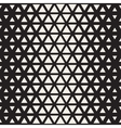 Seamless Black And White Triangle Halgtone vector image vector image