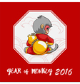 Year of monkey vector image