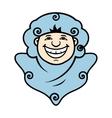 Smile Spook Cartoon vector image