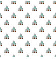 catholic church pattern seamless vector image