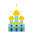 Russian orthodox church flat icon vector image vector image
