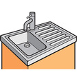 Sink cartoon vector image vector image