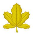 sycamore icon cartoon style vector image vector image