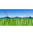 Wind Farm vector image
