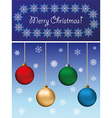 Card Merry Christmas vector image