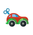 clockwork little car for vector image