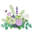 Flowers Bouquet vector image vector image