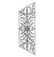 marble panel is an italian renaissance design vector image vector image