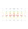 nippers spectrum halftone effect vector image vector image