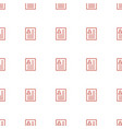 resume icon pattern seamless white background vector image vector image