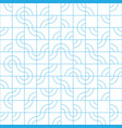 abstract seamless pattern design with tiled vector image vector image