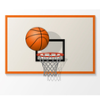 basketball game vector image vector image