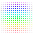 electric strike icon halftone spectrum grid vector image