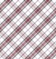 light diagonal tartan seamless pattern vector image vector image
