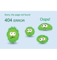 Page not found 404 error vector image vector image