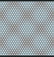 seamless pattern with silvery scales vector image