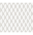 abstract white upholstery background vector image