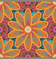 beautiful fabric pattern seamless flowers pattern vector image