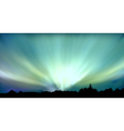 Aurora background vector | Price: 1 Credit (USD $1)