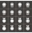Award medal icon set vector image vector image