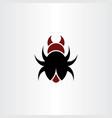 beetle bug logo symbol icon element vector image