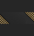 black banner with glittering lattice