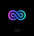 Infinity logo gradient
