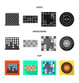 isolated object entertainment and competition vector image
