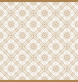 japanese gold background and pattern the exquisit vector image vector image
