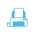 office printer device vector image vector image