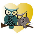 owl darlings vector image vector image