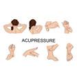 Point massage body parts