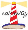 Sail Away vector image vector image