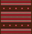 seamless ethnic horizontal stripes pattern vector image vector image