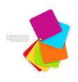 color elements design vector image