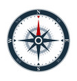 compass rose icon design wind rose and navigation vector image vector image