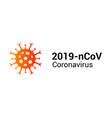 coronavirus covid19 19 icon pandemic corona vector image vector image